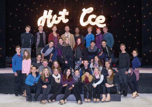 Hot Ice Rehearsals